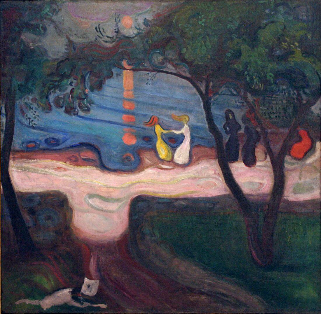 Dance on the Shore, 1900-02 by Edvard Munch