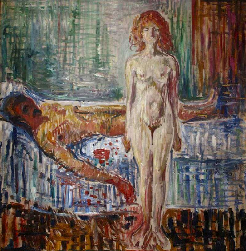 The Death of Marat, 1907 by Edvard Munch