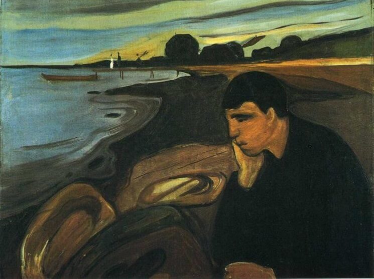 a paper on life and works of edward munch Edvard munch, a norwegian artist, was born dec  we have this report in the  library, and we reproduce above the right-hand page of the  that the other  paintings of the the frieze of life, the munch series that included the.