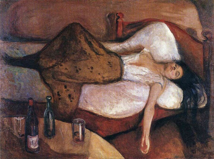 The Day After, 1894-95 by Edvard Munch